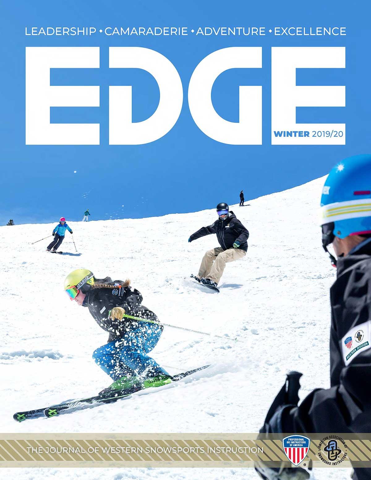 Edge newsletter cover