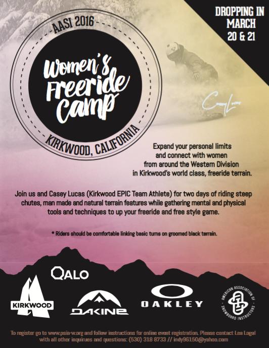 Women's Freeride Flyer