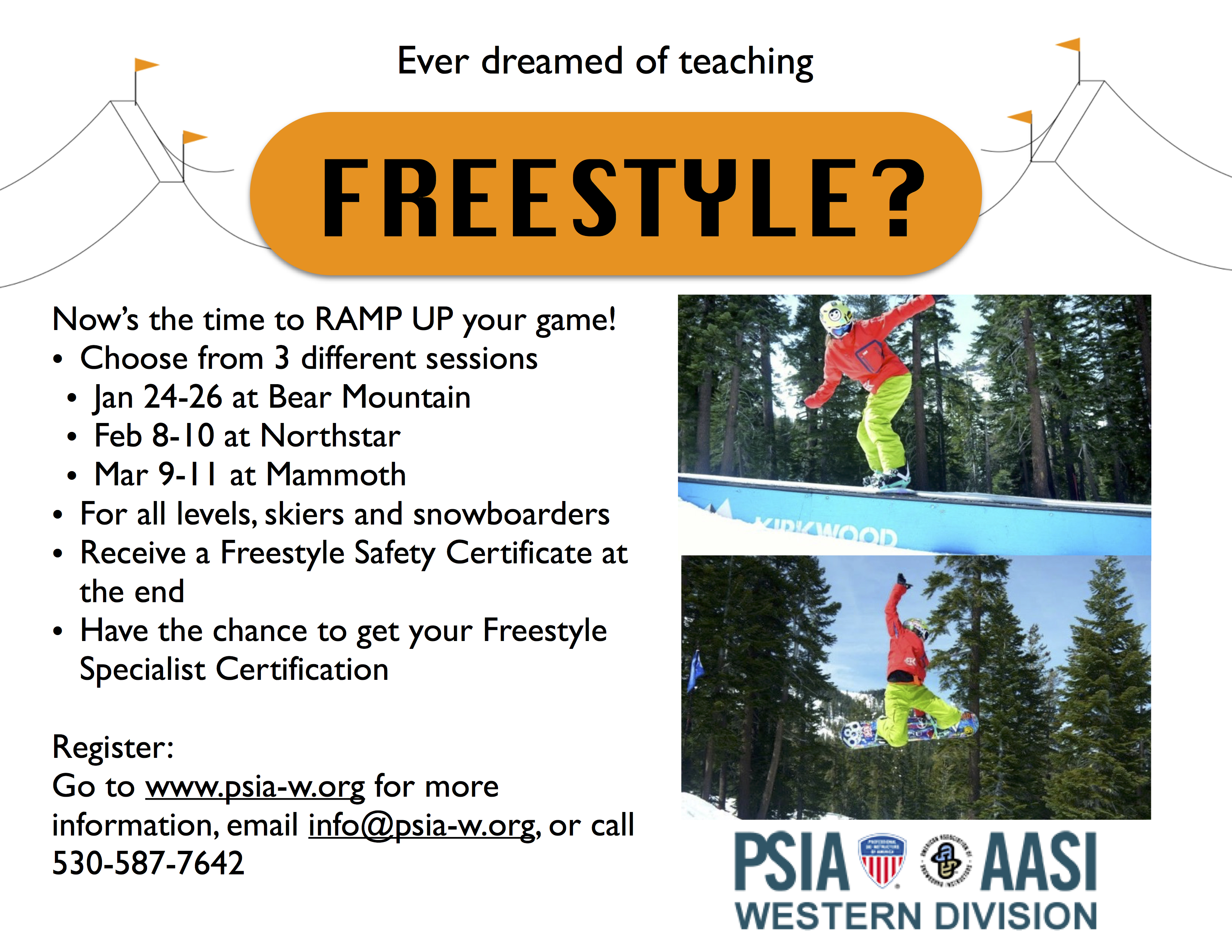 WST- FREESTYLE SESSION @ Northstar | California | United States