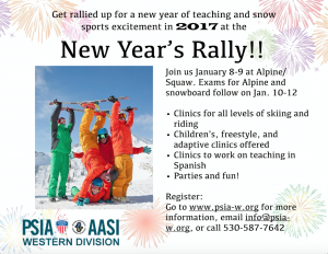 NEW YEAR RALLY @ Squaw | Olympic Valley | California | United States