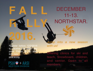 Fall Rally Festival @ Northstar California | Mammoth Lakes | California | United States