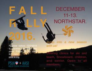 Fall Rally @ Northstar California Resort | Truckee | California | United States